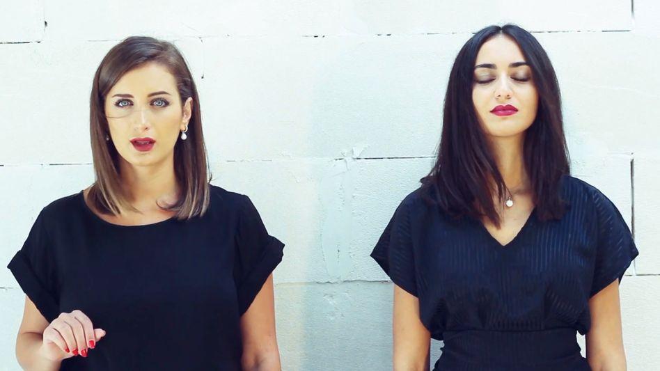 """Rihan (l.) und Faia Younan: """"Wir wollten die Menschen an die Schönheit unserer Länder erinnern"""""""