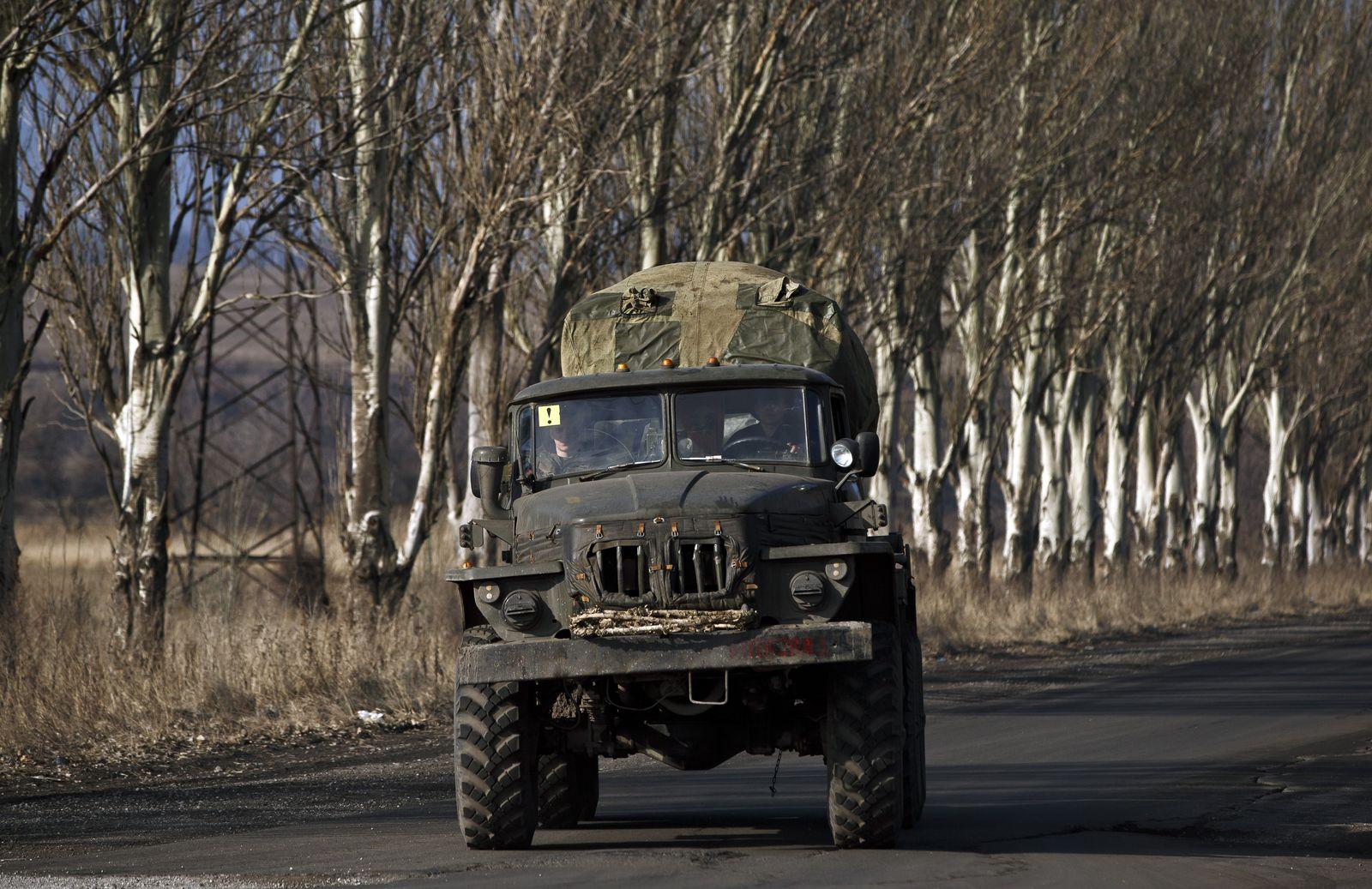 Ukraine Abzug schwerer Waffen