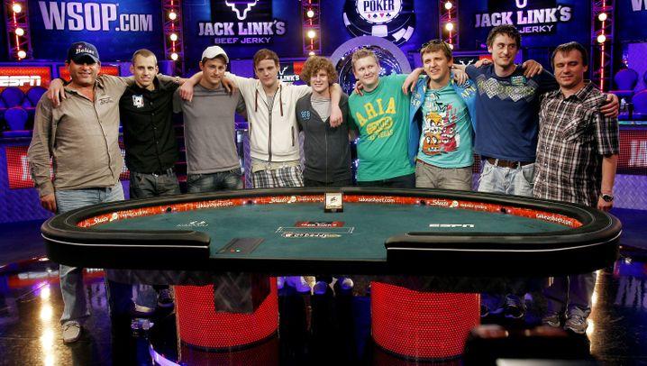 Poker-WM: Und dann die Hände, zum Himmel