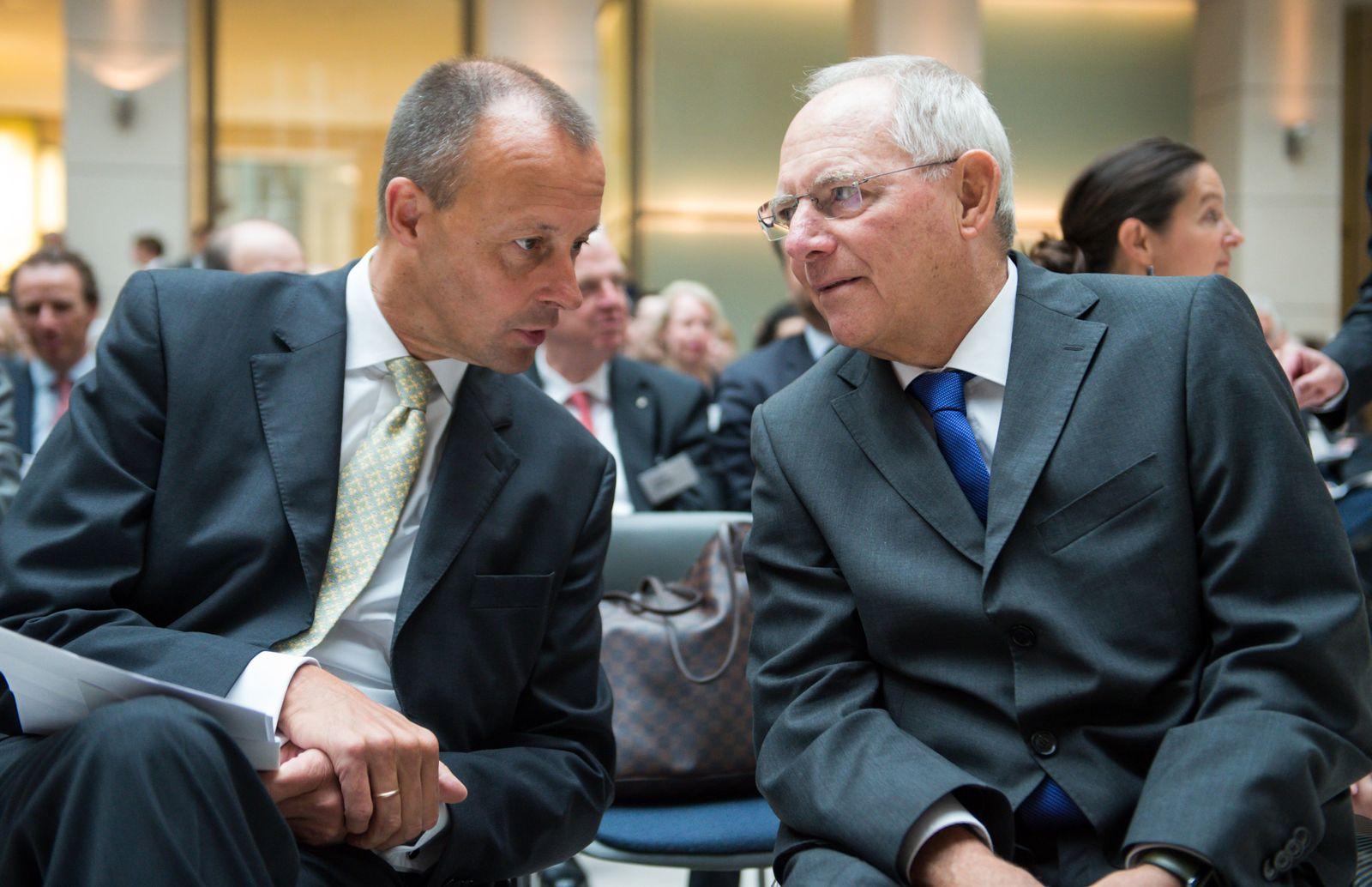 Schäuble bei Konferenz der Atlantik-Brücke