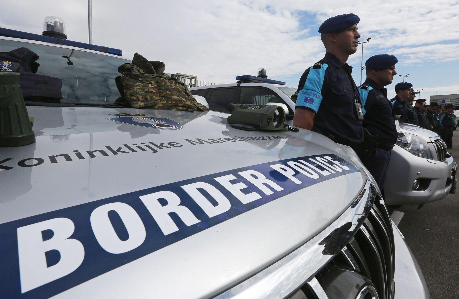 EINMALIGE VERWENDUNG Frontex/ EU