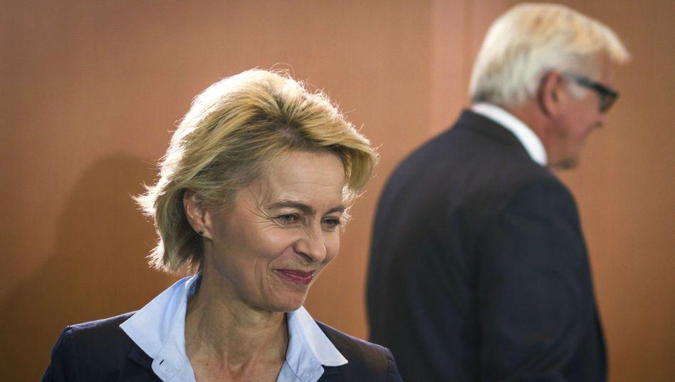 CDU-Politikerin von der Leyen: Flapsige Antwort