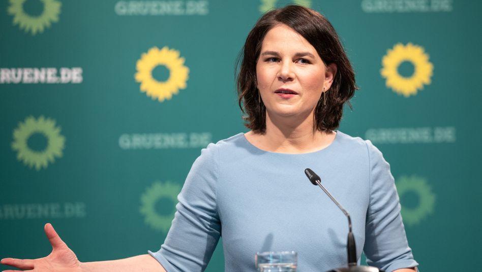 Grünen-Spitzenkandidatin Baerbock (Archivbild)