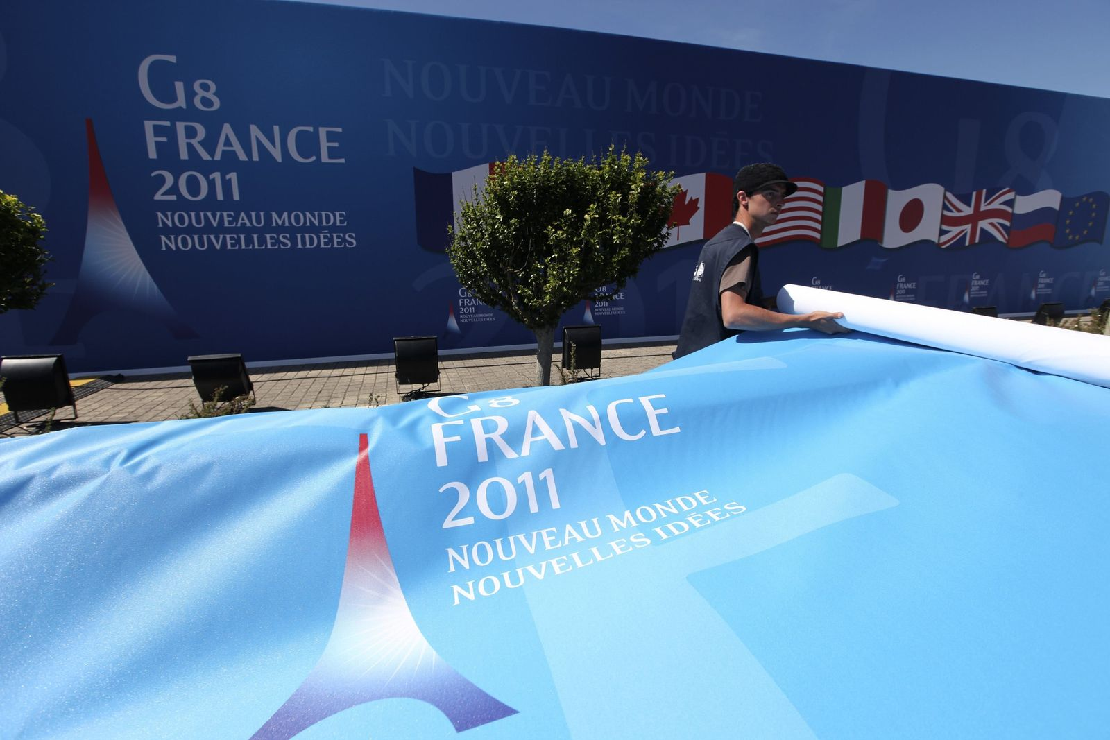 G8-Gipfel / Deauville