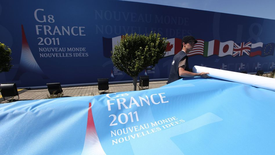 The annual G-8 Summit concluded Friday in the French seaside town of Deauville.