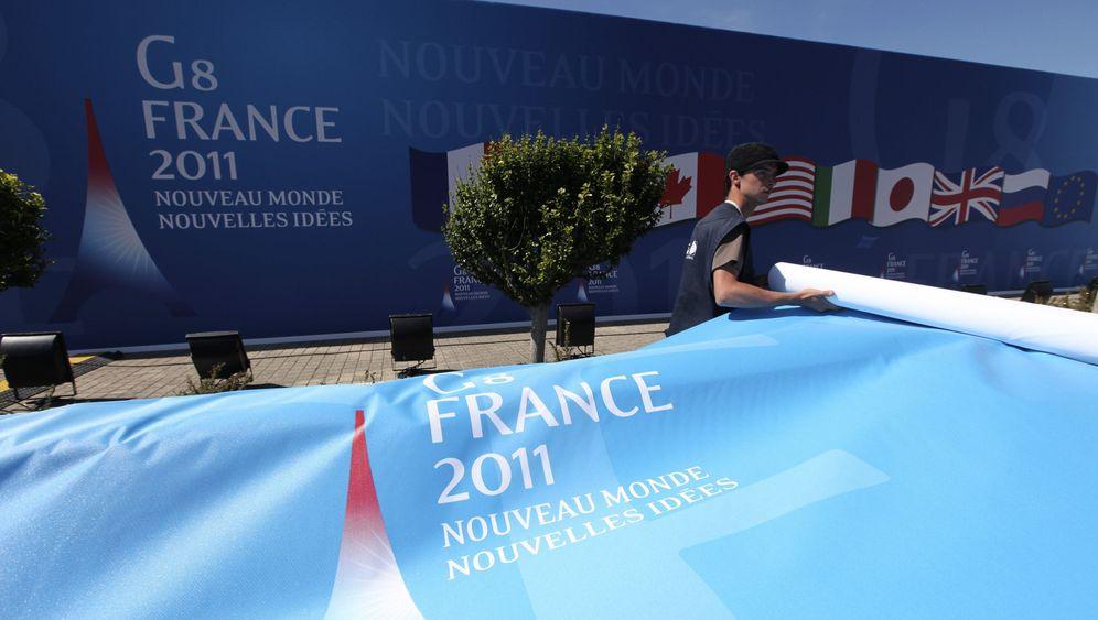 G8 in Deauville: Demonstranten müssen draußen bleiben