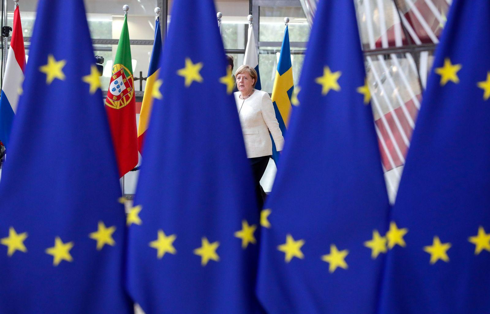 Angela Merkel Brüssel EU