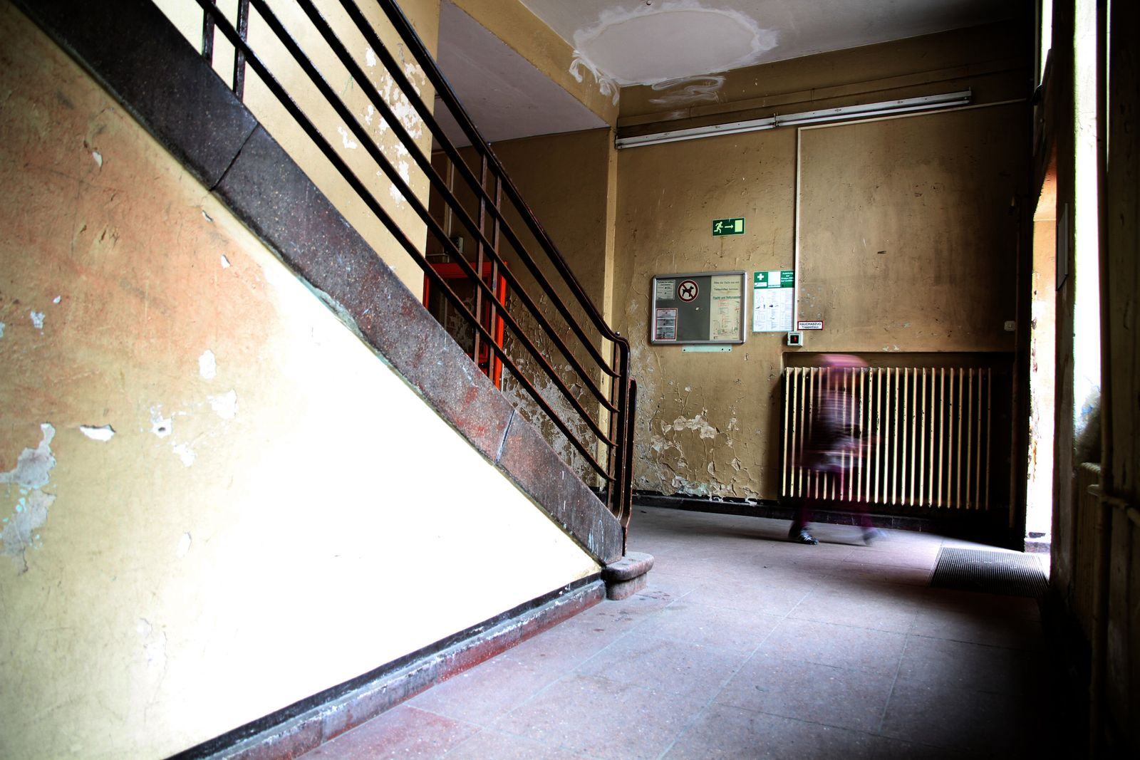 Marodes Schulgebäude