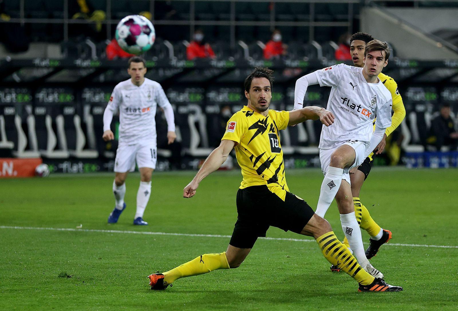 Borussia Moenchengladbach vs Borussia Dortmund, Germany - 22 Jan 2021