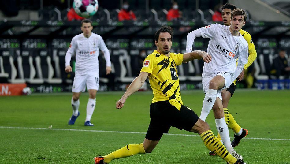 Der frühe Treffer von Florian Neuhaus zählte nicht, doch es folgten viele weitere