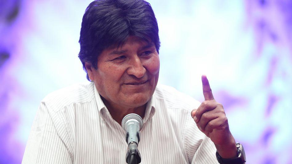 Evo Morales in Mexiko: Zwischenrufe aus dem Exil