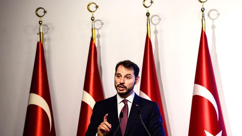 Türkischer Finanzminister Berat Albayrak