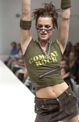 Militär-Mode: Auch in Hollywood ist der Krieg en vogue