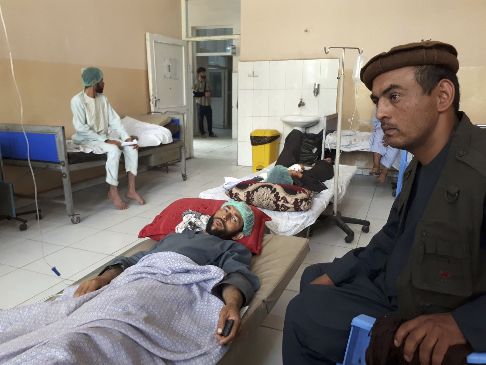 Afghanistan Nahrin Taliban-Angriff