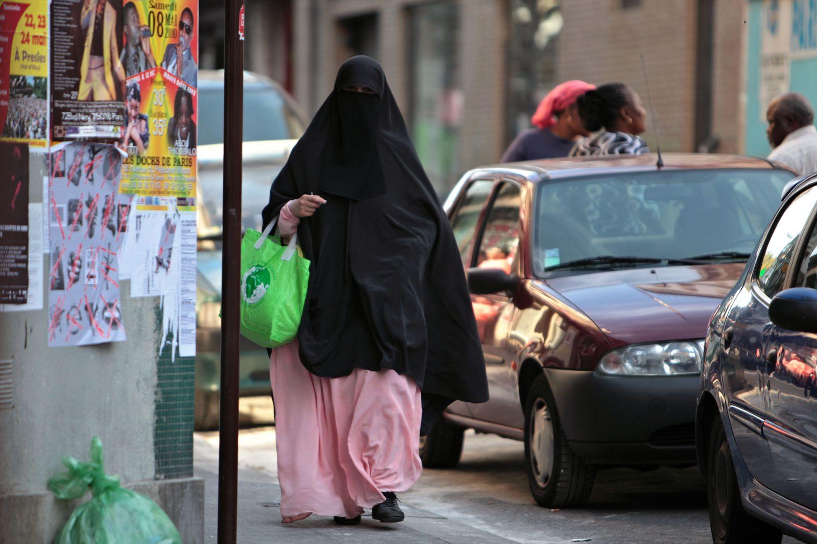 Frankreich/ Burka