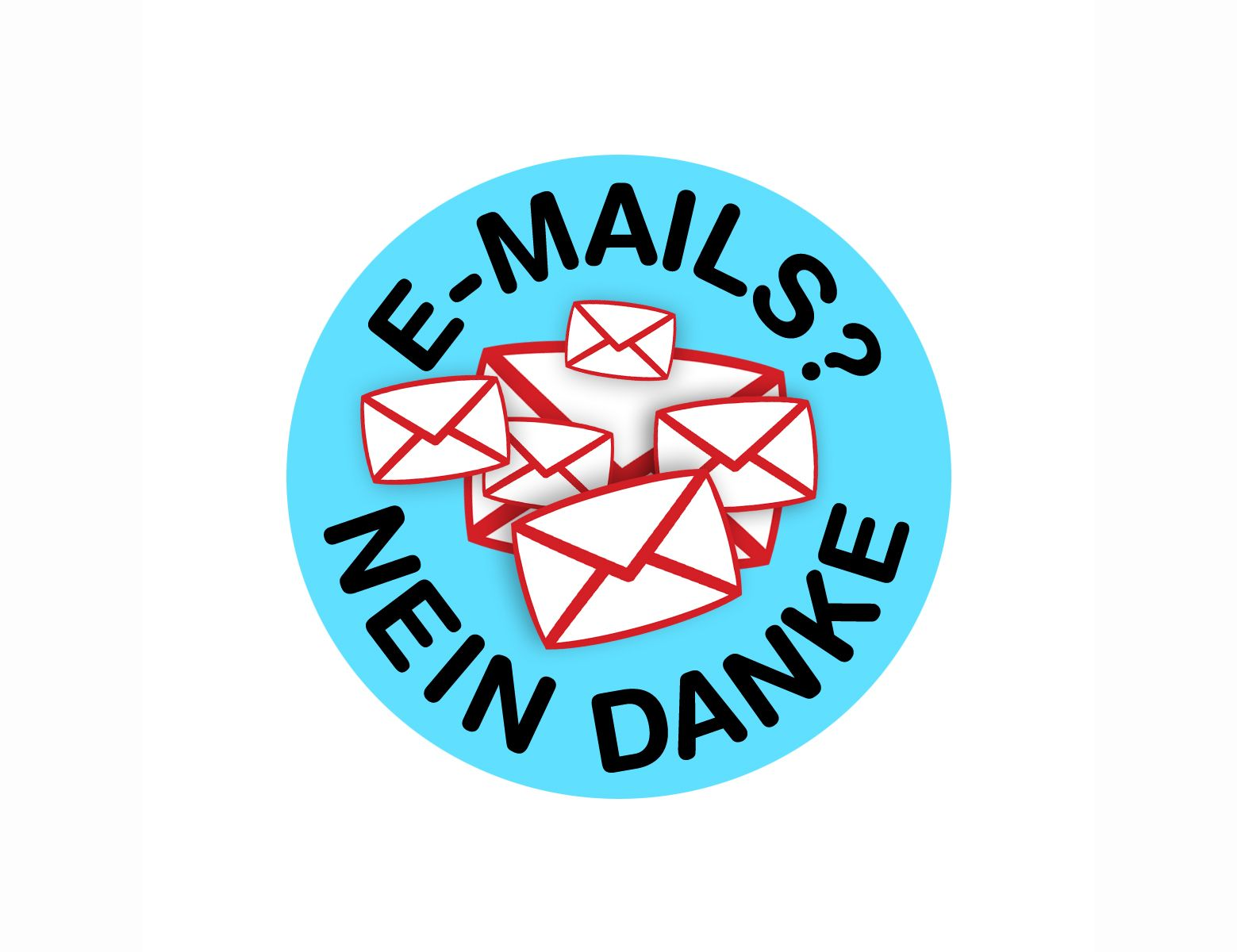 Logo E-Mails - Nein danke