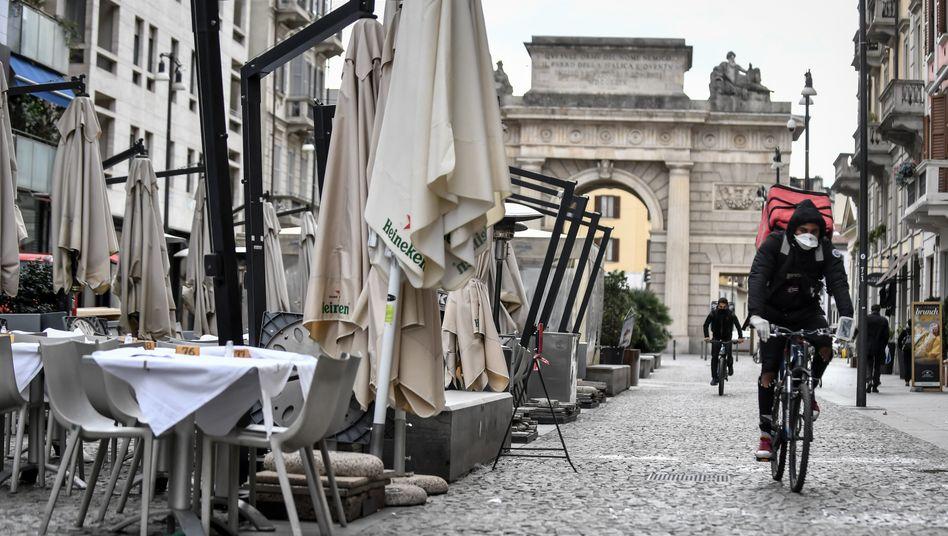 Tristesse in Mailand: Leere Straßen, ausbleibende Touristen