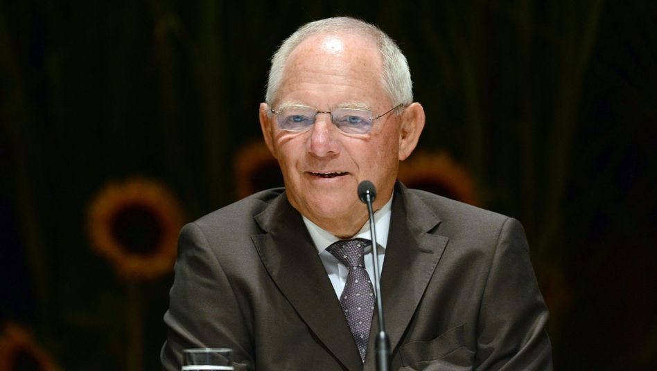 German Finance Minister Wolfgang Schäuble has every reason to smile.