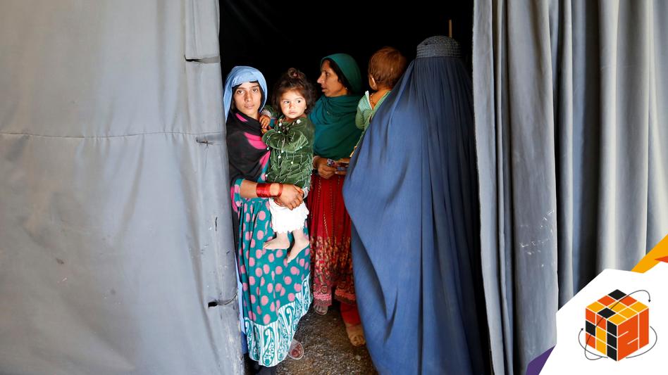 Binnenvertriebene in Kabul: Seit Januar mussten laut Uno 270.000 Afghaninnen und Afghanen aus ihren Häusern fliehen