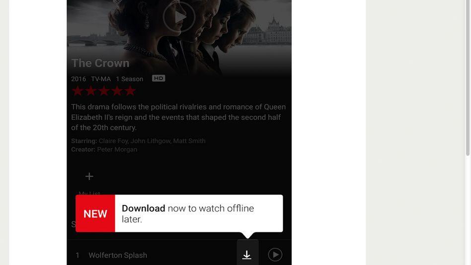 Ankündigung von Netflix