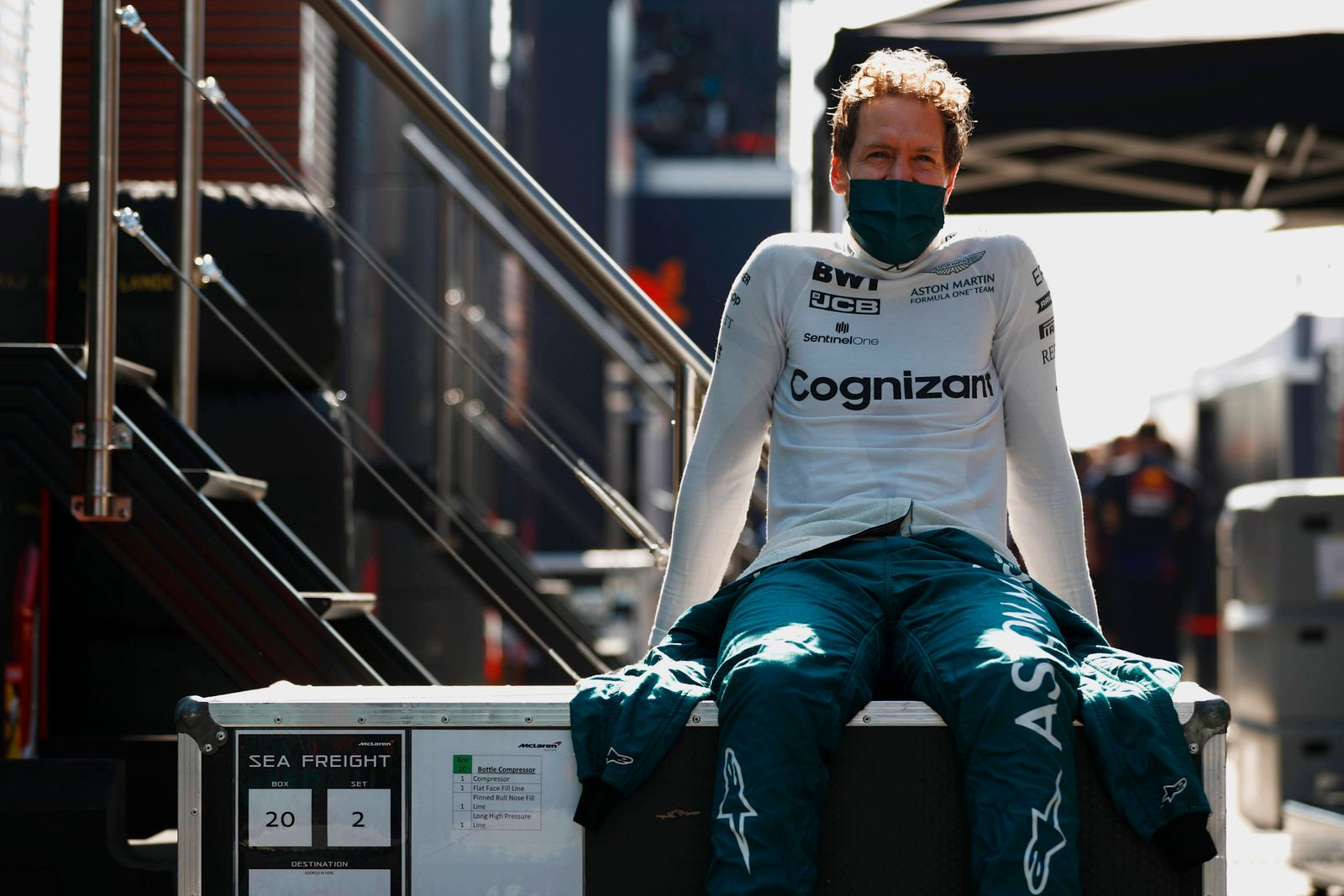 Formula 1 2021: Dutch GP CIRCUIT ZANDVOORT, NETHERLANDS - SEPTEMBER 04: Sebastian Vettel, Aston Martin during the Dutch