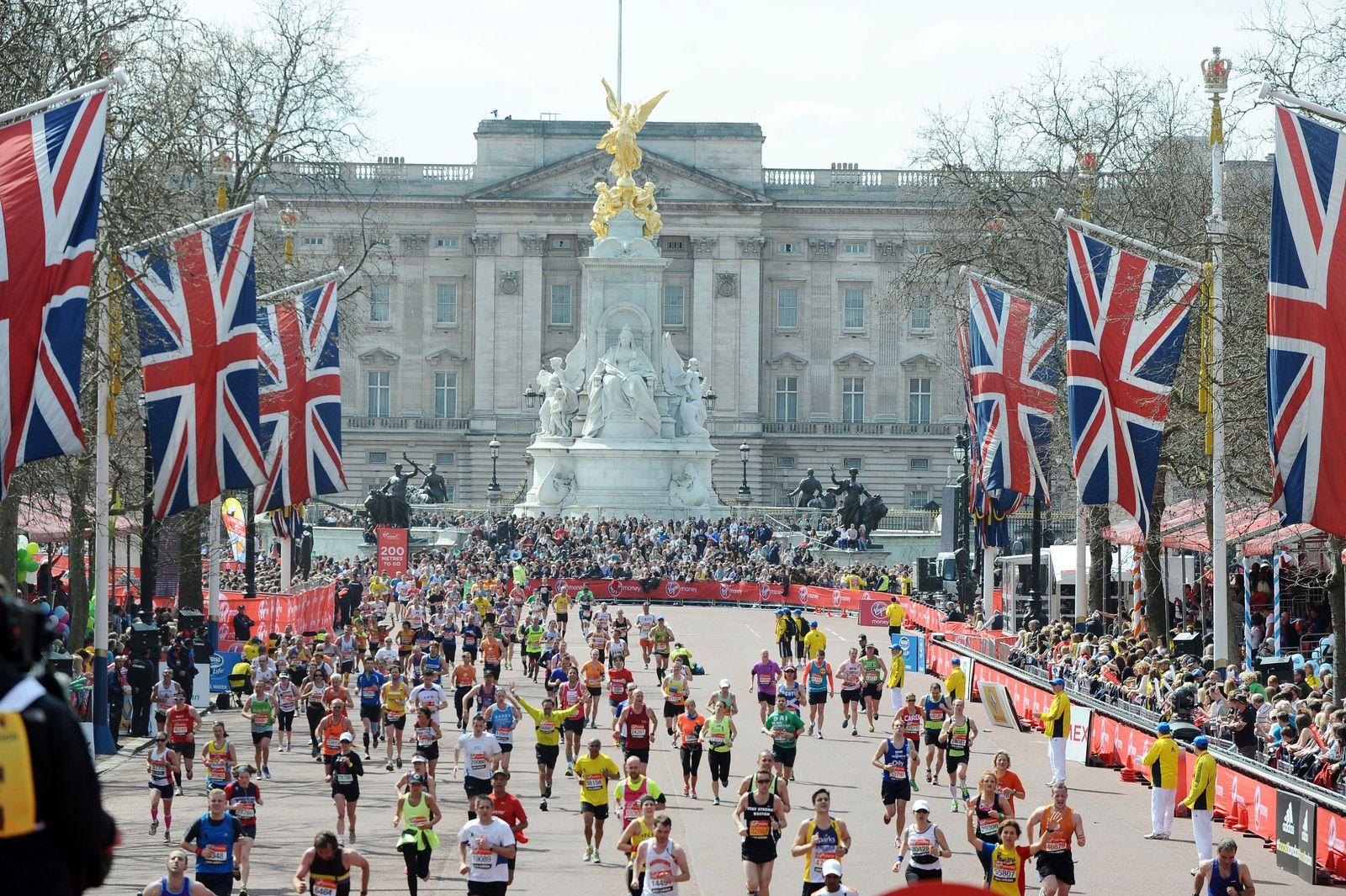 NICHT MEHR VERWENDEN! - EINMALIGE VERWENDUNG Monatsvorschau / April / London Marathon
