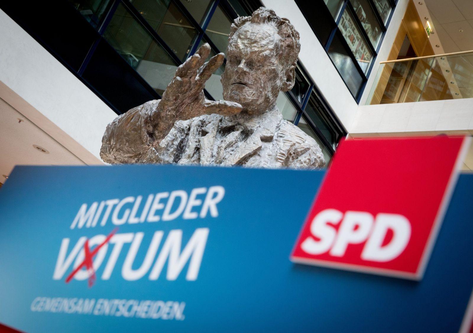 Statement Scholz und Nahles vor SPD-Mitgliedervotum