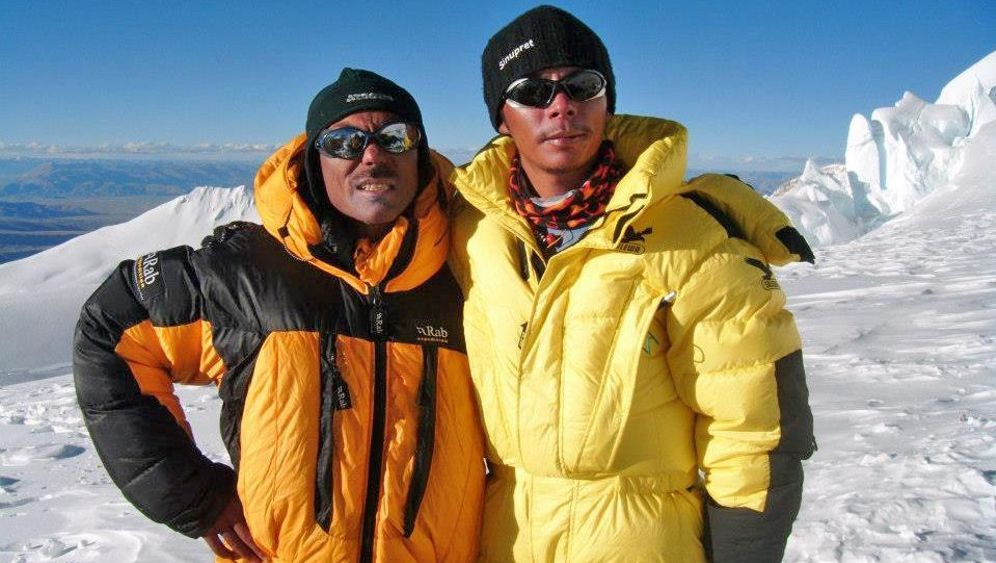 Höhenbergsteiger: Norbu Sherpa und der Everest