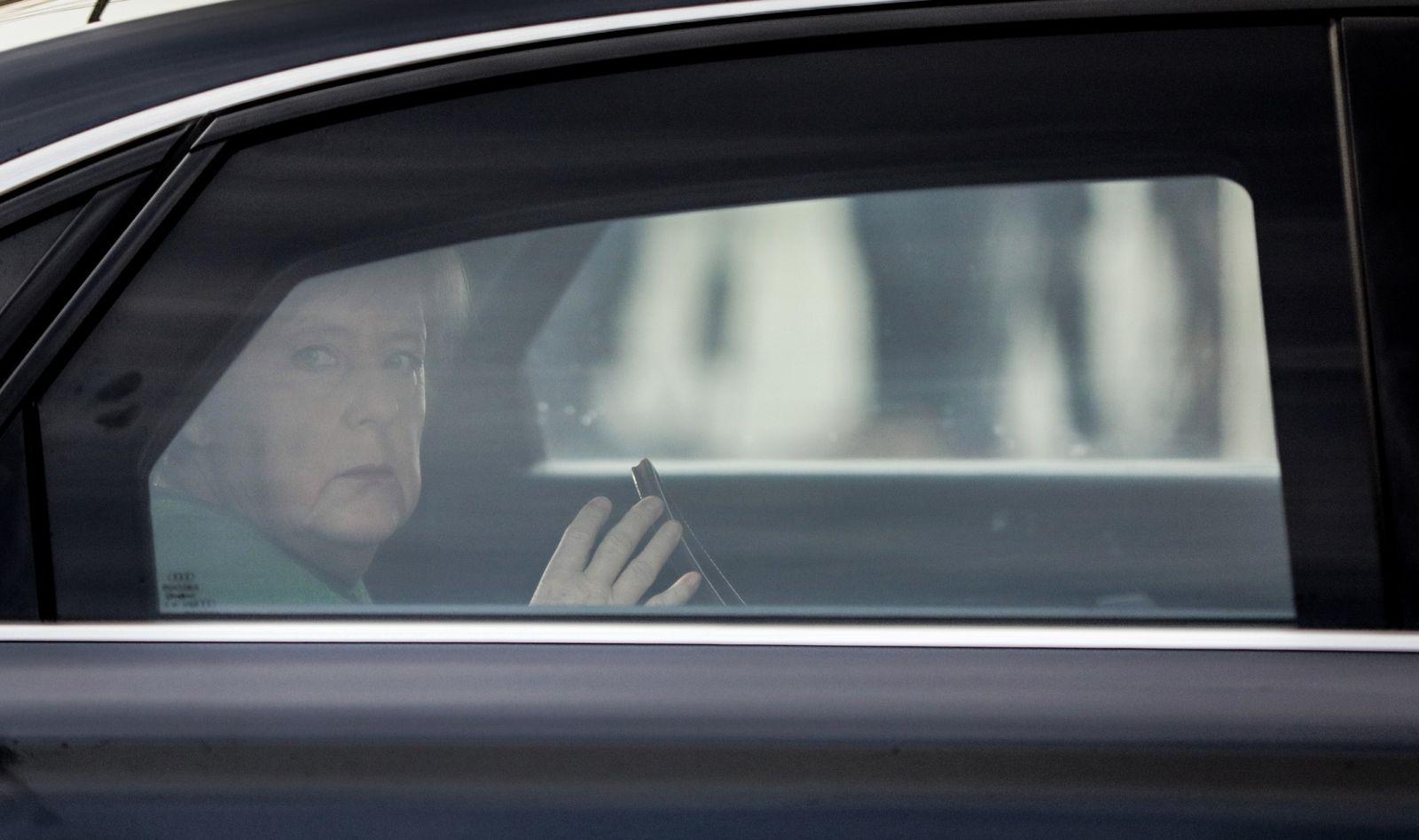 Merkel / Auto