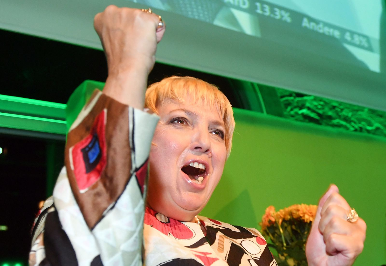 Claudia Roth/ Die Grünen