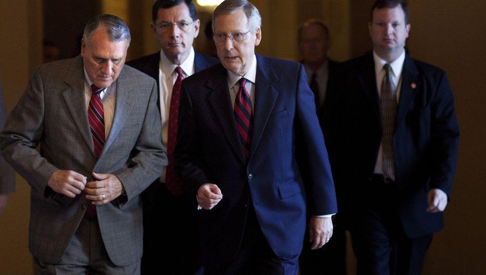 Republikanische Politiker im US-Senat: Sieg der Tea Party