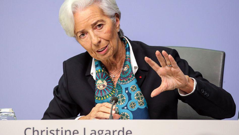 EZB-Chefin Lagarde