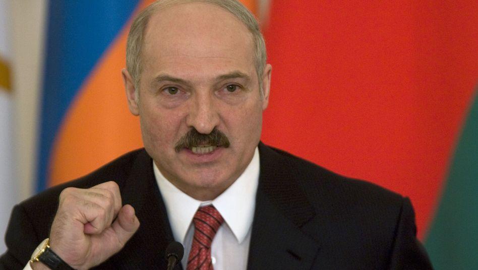 Diktator Lukaschenko: Schikane gegen Oppositionelle