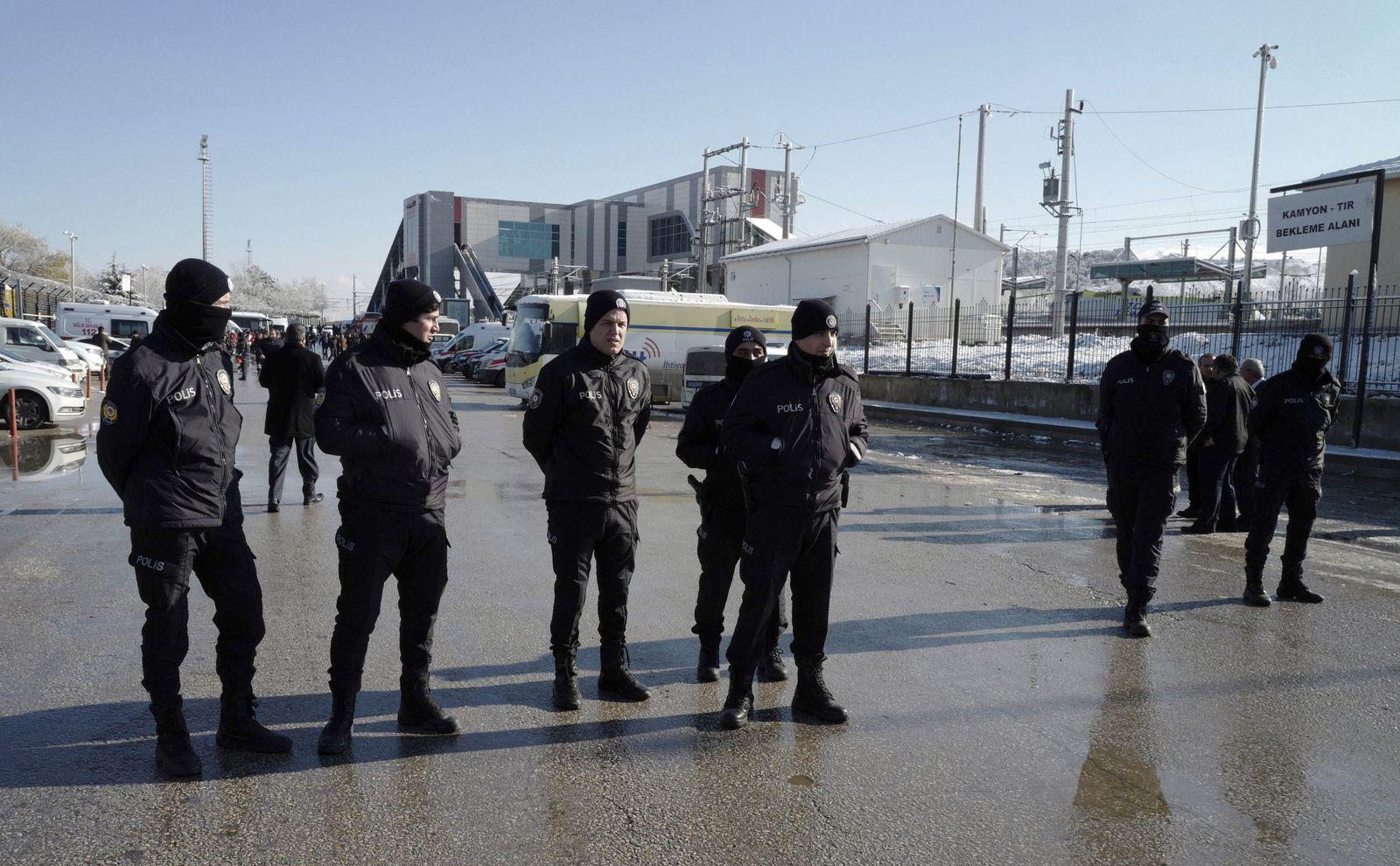 Türkei Polizisten