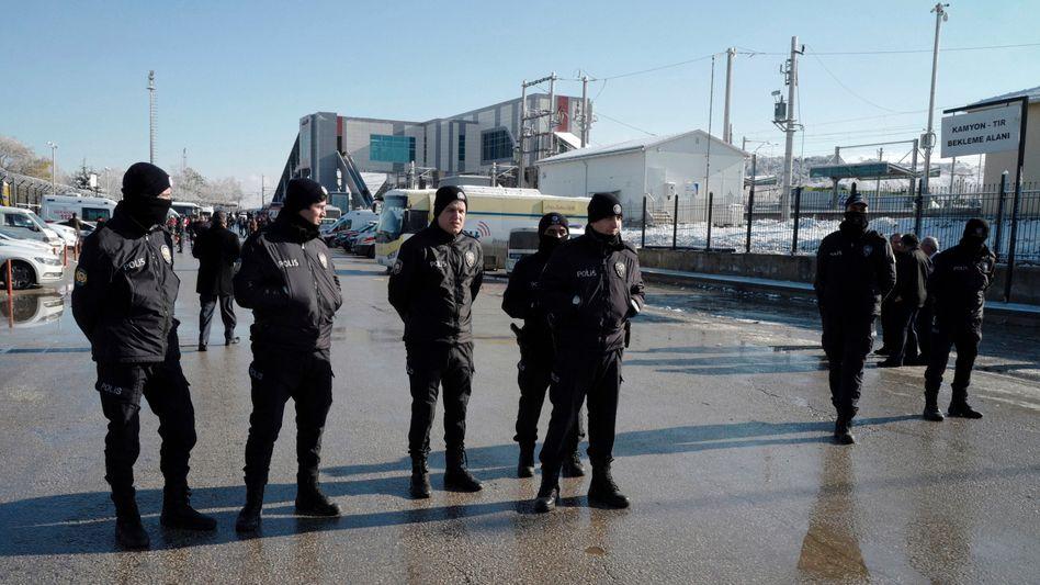 Türkische Polizisten (Archivbild)