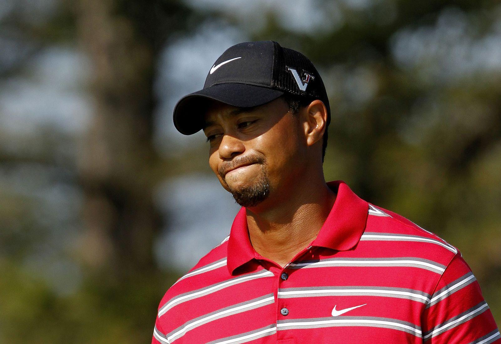 Tiger Woods-frustriert II