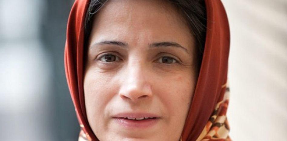 Die iranische Anwältin und Menschenrechtsaktivistin Nasrin Sotudeh (Archivbild von 2010)