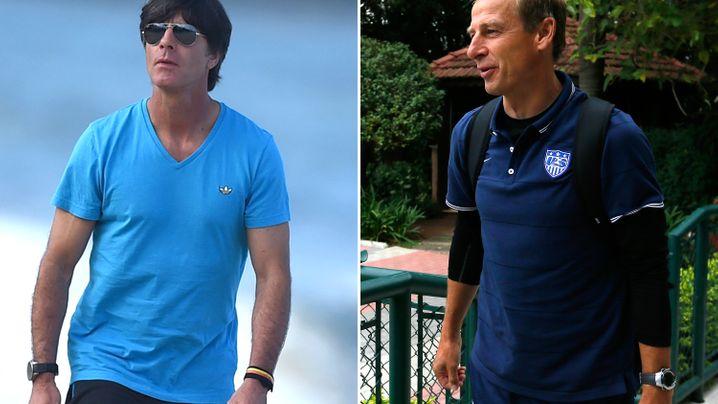 Der Mann-gegen-Mann-Vergleich: Löw vs. Klinsmann