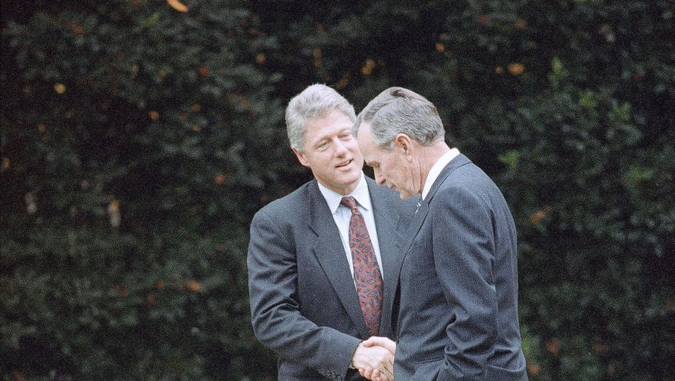 Bill Clinton, George Bush (1992)