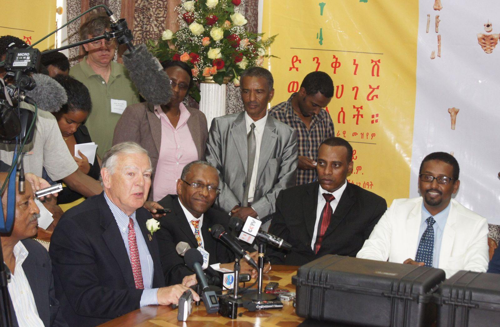 Fossil «Lucy» zurück in Äthiopien