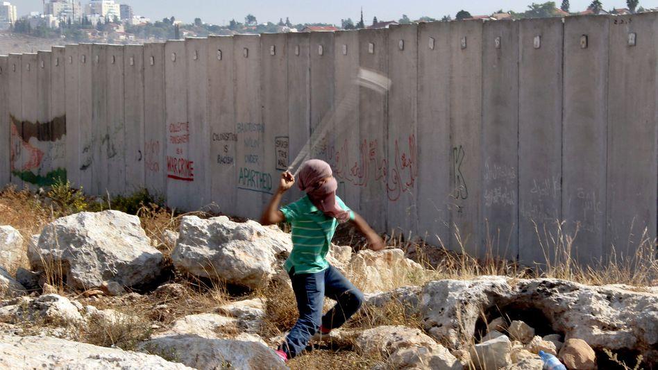 Protest im Westjordanland