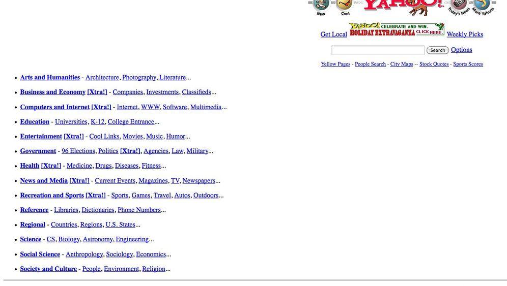 Frühe Webseiten: Lahmazon.com