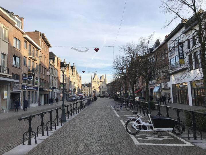 Zentrum von Mechelen