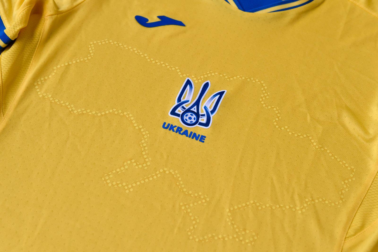 Trikot Nationalmannschaft Ukraine
