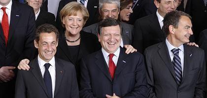 Europas Staats- und Regierungschef beim Familienfoto in Brüssel