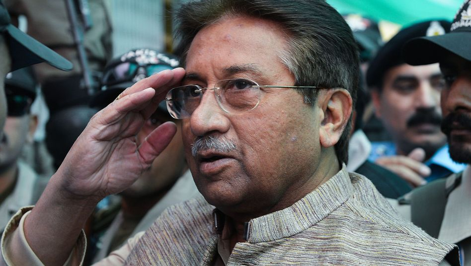 Pervez Musharraf, Pakistans Präsident von 2001 bis 2008, putschte sich 1999 an die Macht (Archivbild)