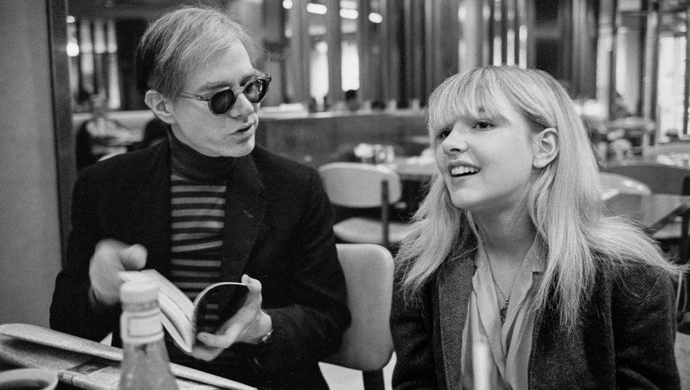 """""""Ich fühlte mich sehr wohl bei ihm"""": Bibbe Hansen mit Andy Warhol 1965 in New York"""