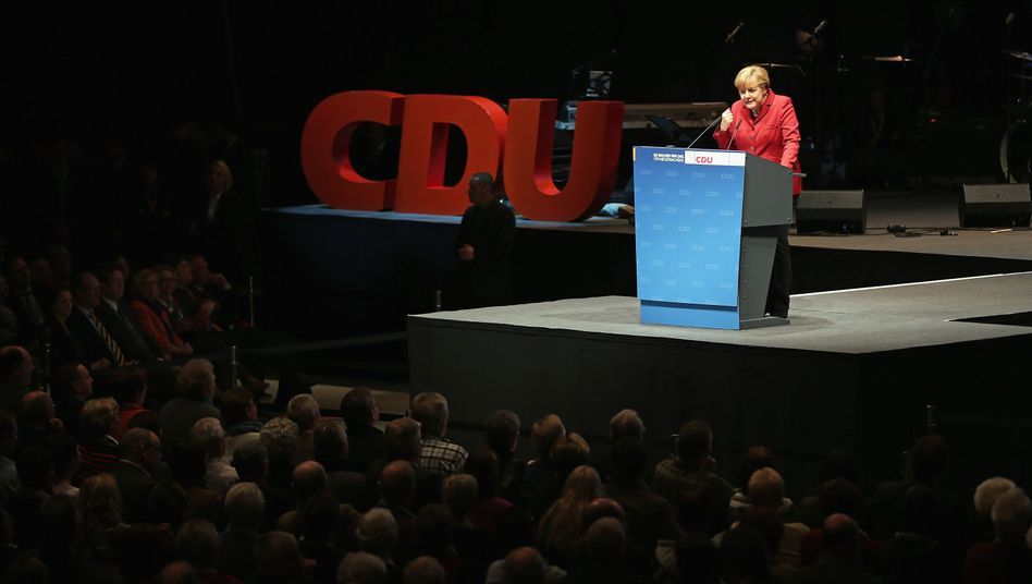 Merkel is extremely popular, but she needs a partner.
