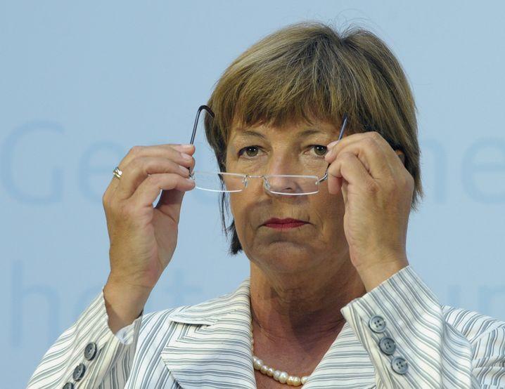 """Bundesgesundheitsministerin Ulla Schmidt musste von Parteifreundin Hinz schon mal hören: """"Ruf mich nicht mehr an!"""""""