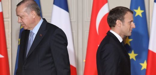 Recep Tayyip Erdoğan pöbelt weiter gegen Emmanuel Macron